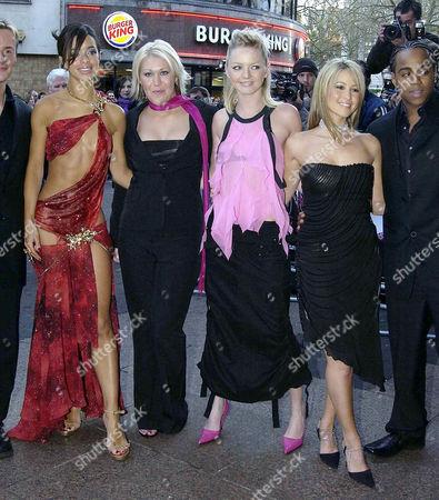 'Seeing Double' Gala Celebrity Premiere at the Warner Westend S Club 7 - Tina Barrett Jo O'meara Hannah Spearritt and Rachel Stevens
