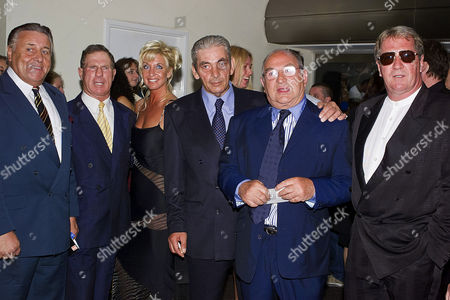 'Snatch' Premiere at the Odeon Leicester Square and Afterparty at Rock Tony Lambrianou and Freddie Foreman (r)