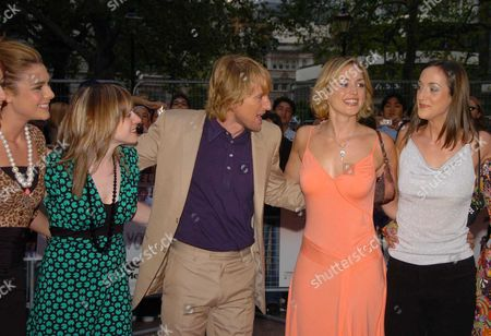 Uk Premiere of 'You Me and Dupree' ' at the Odeon Leicester Square London