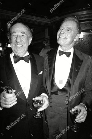 1987 Society of West End Theatre Awards (olivier Awards) Michael Hordern and Charlton Heston