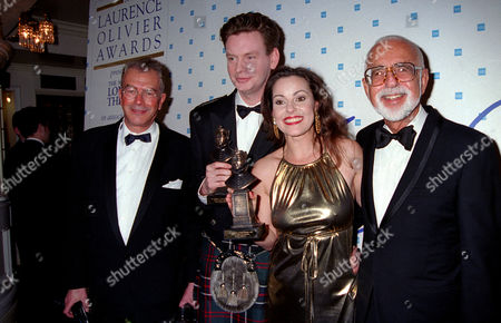 1995 Society of West End Theatre (olivier Awards) Michael White John Gordon-sinclair (best Actor in A Musical 'She Loves Me') Ruthie Henshall (best Actress in A Musical 'She Loves Me') and Harold Prince