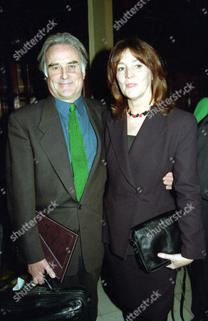 1998 Society of West End Theatre Awards (olivier Awards) Sir Richard Eyre with His Wife Sue Birtwistle