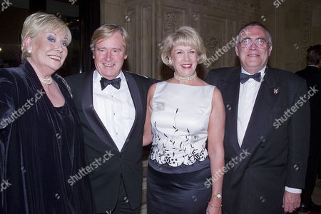 National Television Awards at the Royal Albert Hall Elizabeth Dawn William Roache with His Wife Sarah and Bill Tarmey