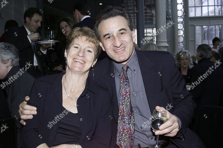 2001 Society of West End Theatre Awards (olivier Awards) Henry Goodman with His Wife Sue Parker