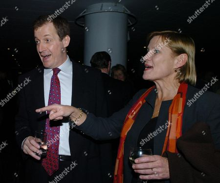 A Evening with Alastair Campbell at the Royal Festival Hall Alastair Campbell and Anji Hunter