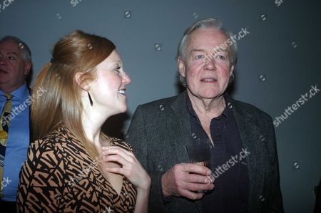 Almeida 25th Anniversay Gala Party at Gagosian Gallery Kings Cross William Gaunt with His Daughter Tilly