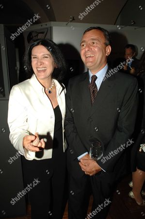 Private View of Bejewelled by Tiffany at the Gilbert Collection Somerset House London Paloma Picasso & Eric ThŽvenet