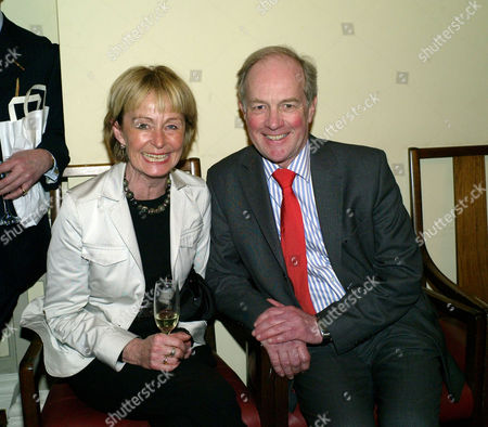 Book Launch Party For 'A Matter of Loyalty' at the British Academy Carlton House Terrace Peter Lilley & His Wife Gail Lilly