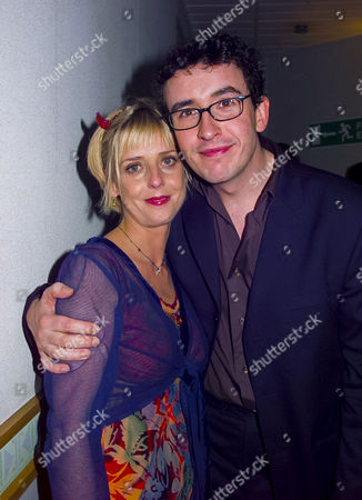 British Comedy Awards at London Tv Studios Emma Chambers (winner Best Comedy Actress) and Steve Coogan