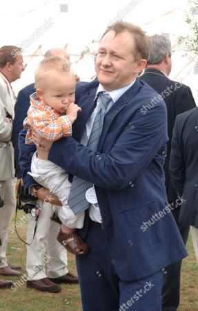 The Cartier International Polo Day at the Guards Polo Club Smiths Lawn Windsor Andrew Upton and Son Roman Robert