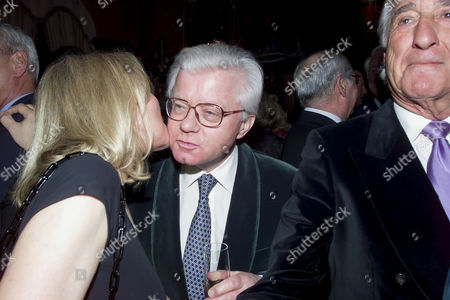 Stock Picture of Chopard and De Grisogono Party at the Palace Hotel Gstaad John Stevens Baron Stevens of Kirkwhelpington
