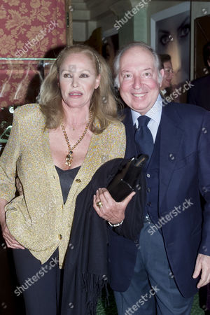 Stock Photo of Chopard and De Grisogono Party at the Palace Hotel Gstaad Ursula Andress and Prince Carlo Giovanelli