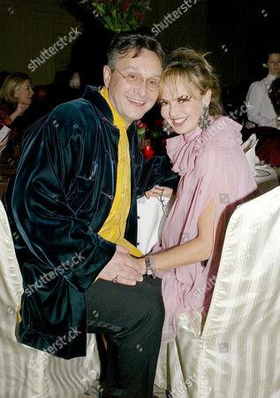 60th Birthday at the Landmark Hotel Tomasz Starzewski and Countess Maya Von Schonburg