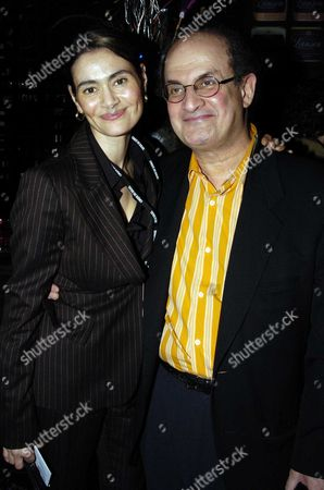 The 1st Night of the Cirque Du Soleil at the Royal Albert Hall Charlotte Lewis & Salman Rushdie