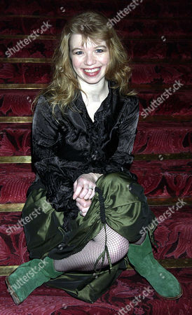 Critics Circle Theatre Awards 2003 at the Theatre Royal Drury Lane Winner of the Jack Tinker Award For the Most Promising Newcomer Alison Pargeter