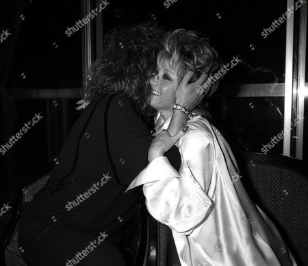 Elaine Paige End of Tour Party Barbara Dickson and Elaine Paige