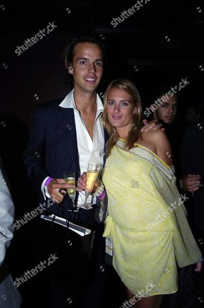 A Party to Re-launch the Newly Refirbished Embargo Nite Club in Lots Road Chelsea Charlie Wilkes & Anita Patrickson