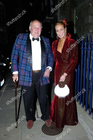 Countess Raine Spencer Held Her 70th Birthday Dinner at Spencer House Bryony Brind with Her Husband Ian Mccorquodale