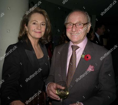 First Night Party For 'Porgy and Bess' at Floridita Wardour Street David Jacobs with His Wife Lindsay