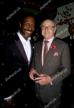 First Night Party For 'Porgy and Bess' at Floridita Wardour Street Clarke Peters and David Jacobs