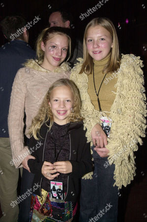 First Night Live at the Hammersmith Apollo Jennifer Saunders's Daughters Beattie Edmondson Ella Edmondson and Freya Edmondson