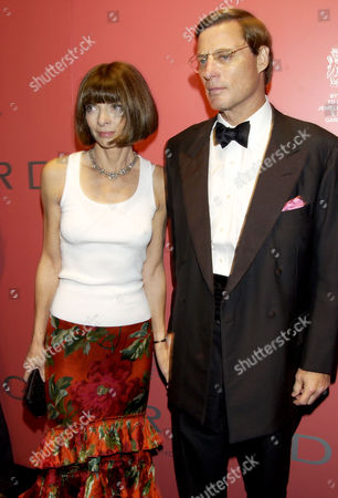 Garrard Celebrate A New Era in Their History with A Party at the Tower of London Anna Wintour with Her Partner Shelby Bryan