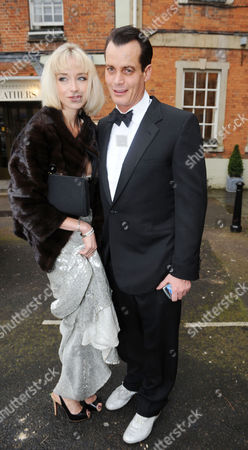 Editorial image of Guests at the Wedding of Tim Jefferies to Malin Johansson at Blenheim Palace - 19 Apr 2008