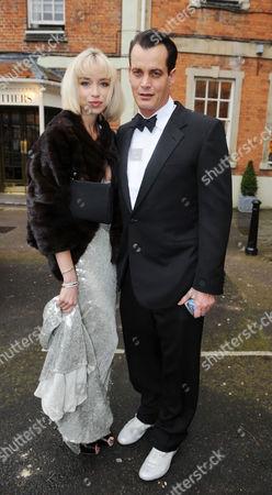 Wedding Guests in Woodstock Matthew Mellon with His Girlfriend Noelle Reno