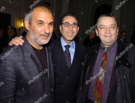 Private View of 'Heaven On Earth' in the Hermitage Rooms at Somerset House London Uk Alan Yentob Dr Nasser Khalili & Norman Rosenthal