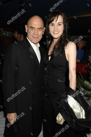 Stock Picture of Terry Pratchett's Hogfather World Premiere at the Curzon Cinema Curzon Street Mayfair London Peter Guinness & Michelle Dockery