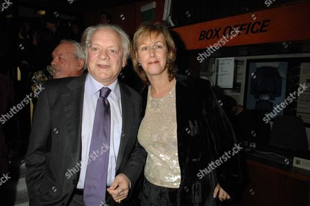 Terry Pratchett's Hogfather World Premiere at the Curzon Cinema Curzon Street Mayfair London David Jason with His Wife Gill Hinchcliffe
