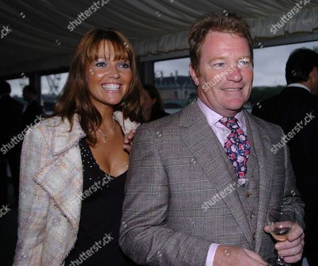 Michael Howards Summer Reception at the Terrace at the House of Commons It is Also His 62nd Birthday Jim Davidson & Michelle Cotton