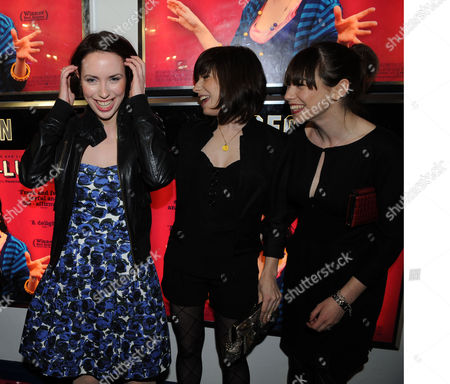 The Premiere of Happy Go Lucky at the Odeon Parkway Camden Town London Kate O'flynn Alexis Zegerman & Caroline Martin