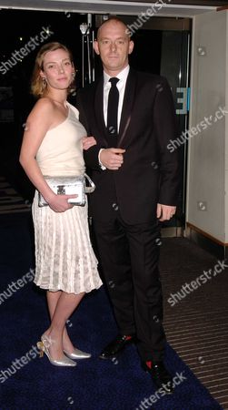 Arrivals at the Royal Film Performance of Ladies in Lavender at the Odeon Leicester Square Camilla Rutherford with Her Husband Rufus Abbott
