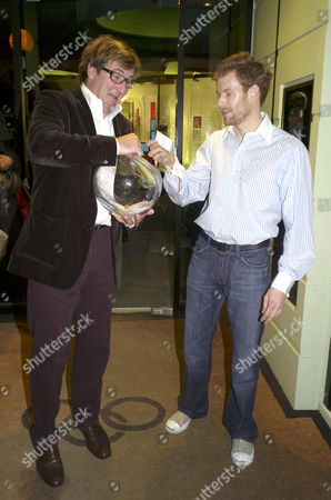 Stock Picture of Launch Party For the Book 'Tom Aikens Cooking' at Links Sloane Square John Ayton and Tom Aikens