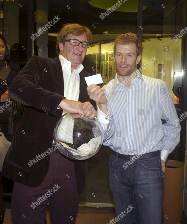 Launch Party For the Book 'Tom Aikens Cooking' at Links Sloane Square John Ayton and Tom Aikens