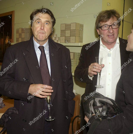 Launch Party For the Book 'Cooking' at Links Sloane Square Bryan Ferry and John Ayton