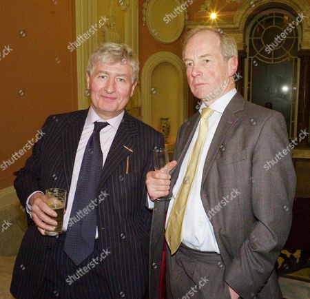 Book Lunch Party For 'Dancing On the Edge' at Dartmouth House Charles Street Christopher Moran and Peter Lilley Mp