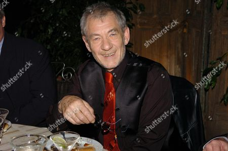 5th Anniversay Og Mamma Mai & 30th Anniversary of Abba Winning Eurovision Song Contest with Waterloo Party Sir Ian Mckellan