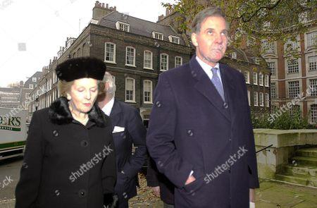 Memorial Service at St Johns Smith Square Baroness Margaret Thatcher and Jonathan Aitken