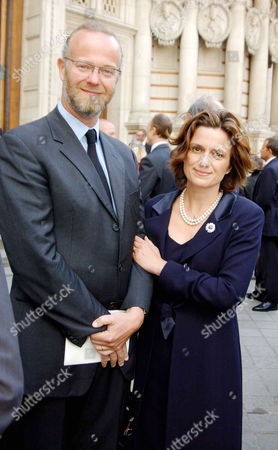 Memorial Service For John Paul Getty Ii at Westminster Cathedral Earl and Countess of St Andrews