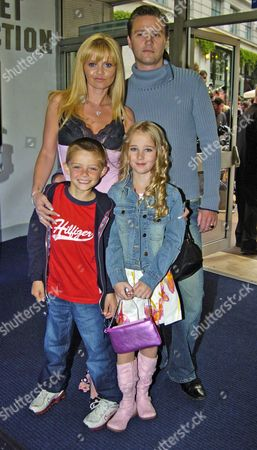 Sceening of New York Minute at the Odeon Westend Leicester Square Danniella Westbrook & Family