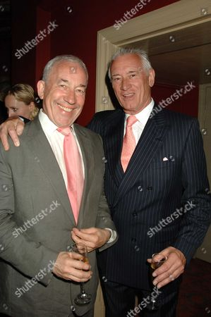 The Renaming of the Albery Theatre in St Martin's Lane to the No'l Coward Theatre Simon Callow & Keith Baxter