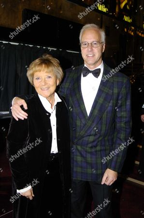 World Charity Premiere of 'Alfie' at the Empire Leicester Square in Aid of 'Make A Wish ' Julia Foster (she Was in the Original Film) with Her Partner