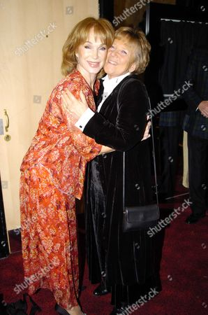 World Charity Premiere of 'Alfie' at the Empire Leicester Square in Aid of 'Make A Wish ' Shirley Anne Field & Julia Foster (their Were in the Original Film)
