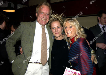 Publication Party For 'The Party Bible' and 'Top Hat and Tails' at the Cabinet War Rooms Whitehall Liz Brewer with Her Ex-husband John Rendall and Their Daughter Tallulah Rendall