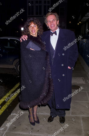 Stock Photo of Sir James Goldsmith Memorial Dinner at Spencer House Teddy Goldsmith with His Family