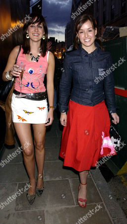 Summer Party at Alfred Dunhill Bond Street in Connection with the Goodwood Festival of Speed Mary Fellowes and Lady Rose Innes-ker
