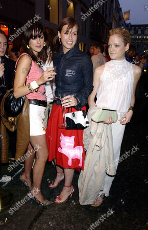 Summer Party at Alfred Dunhill Bond Street in Connection with the Goodwood Festival of Speed Mary Fellowes Lady Rose Innes-ker and Lady Eloise Anson