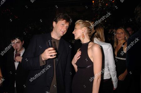 The Annual Tatler Little Black Book Party Held This Year at Tramp Night Club Lord John Somerset & Lady Emily Compton